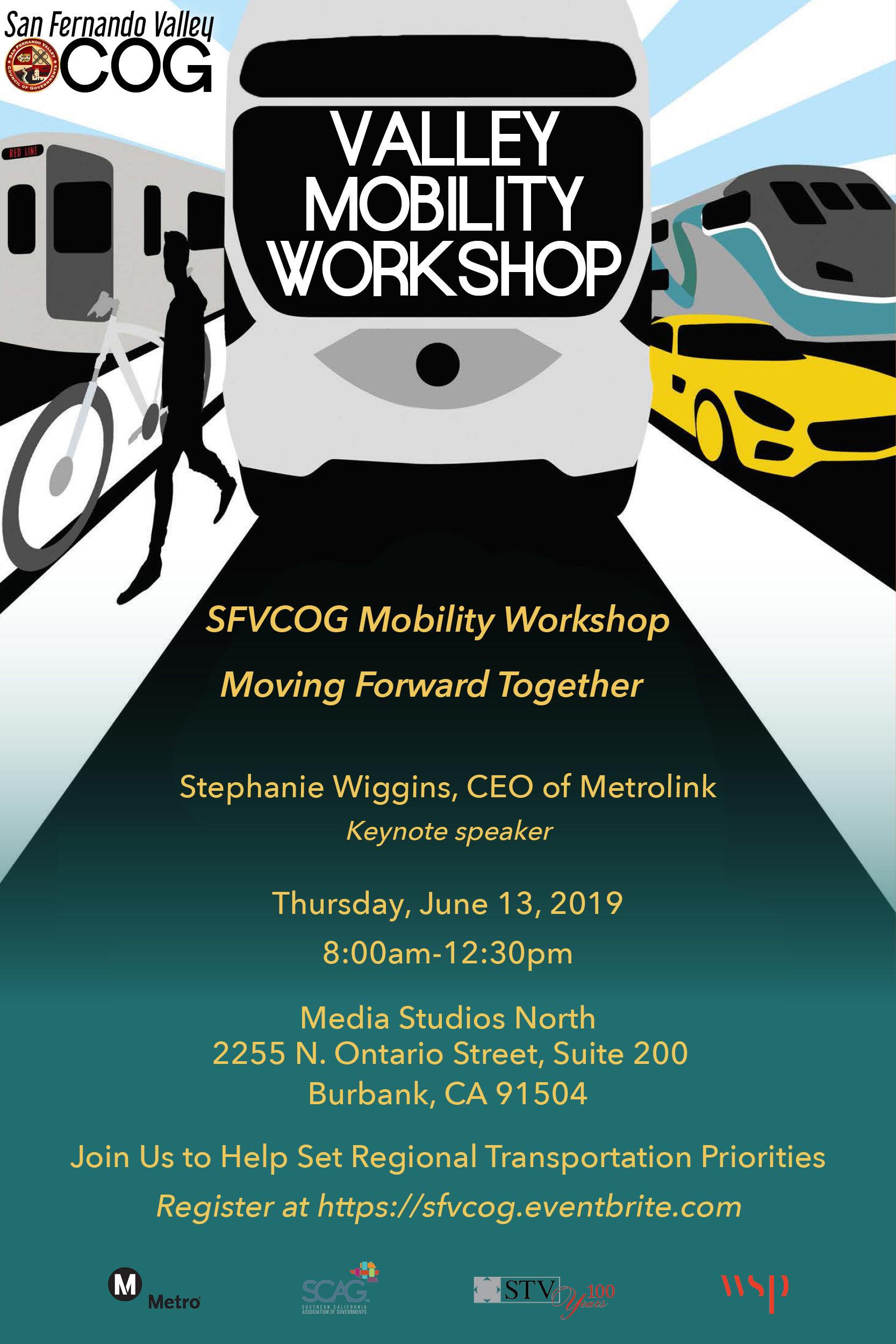 2019 mobility workshop flyer
